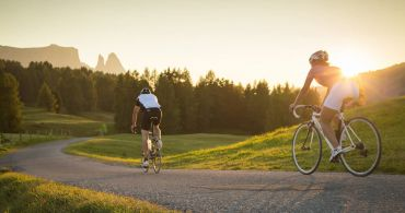 Explore the streets of the Dolomites by bike