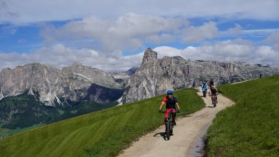 Mountain bike itineraries in Alta Badia